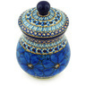 6-inch Stoneware Jar with Lid - Polmedia Polish Pottery H3163G