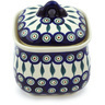 6-inch Stoneware Jar with Lid - Polmedia Polish Pottery H3303H