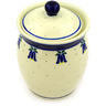 6-inch Stoneware Jar with Lid - Polmedia Polish Pottery H4127D