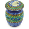 6-inch Stoneware Jar with Lid - Polmedia Polish Pottery H5340G
