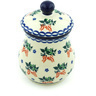 6-inch Stoneware Jar with Lid - Polmedia Polish Pottery H5815H