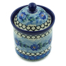 6-inch Stoneware Jar with Lid - Polmedia Polish Pottery H6166A