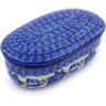 6-inch Stoneware Jar with Lid - Polmedia Polish Pottery H6319A