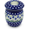 6-inch Stoneware Jar with Lid - Polmedia Polish Pottery H6714G