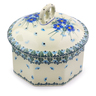 6-inch Stoneware Jar with Lid - Polmedia Polish Pottery H6940I