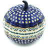 6-inch Stoneware Jar with Lid - Polmedia Polish Pottery H8508H
