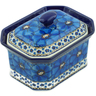 6-inch Stoneware Jar with Lid - Polmedia Polish Pottery H9252I