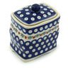 6-inch Stoneware Jar with Lid - Polmedia Polish Pottery H9892H