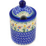6-inch Stoneware Jar with Lid with Opening - Polmedia Polish Pottery H3628E