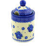 6-inch Stoneware Jar with Lid with Opening - Polmedia Polish Pottery H4993F