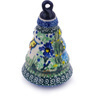 6-inch Stoneware Ornament Christmas Ball - Polmedia Polish Pottery H5568G