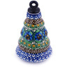 6-inch Stoneware Ornament Christmas Ball - Polmedia Polish Pottery H6411G