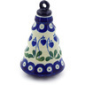6-inch Stoneware Ornament Christmas Ball - Polmedia Polish Pottery H6640G
