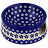 6-inch Stoneware Pet Bowl - Polmedia Polish Pottery H1865E