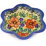 6-inch Stoneware Scalloped Fluted Bowl - Polmedia Polish Pottery H5484F