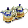 6-inch Stoneware Seasoning Set - Polmedia Polish Pottery H1826D