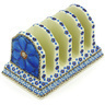 6-inch Stoneware Toast Holder - Polmedia Polish Pottery H4108G