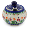 6 oz Stoneware Sugar Bowl - Polmedia Polish Pottery H5559K