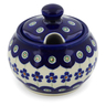 6 oz Stoneware Sugar Bowl - Polmedia Polish Pottery H5561K