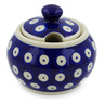 6 oz Stoneware Sugar Bowl - Polmedia Polish Pottery H5563K