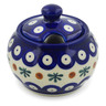 6 oz Stoneware Sugar Bowl - Polmedia Polish Pottery H5564K