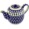60 oz Stoneware Tea or Coffee Pot - Polmedia Polish Pottery H1148D