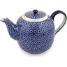 60 oz Stoneware Tea or Coffee Pot - Polmedia Polish Pottery H6283C