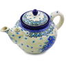 61 oz Stoneware Tea or Coffee Pot - Polmedia Polish Pottery H0775I
