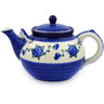 61 oz Stoneware Tea or Coffee Pot - Polmedia Polish Pottery H5074D