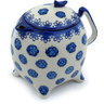 62 oz Stoneware Tea or Coffee Pot - Polmedia Polish Pottery H9442H