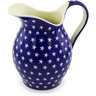 64 oz Stoneware Pitcher - Polmedia Polish Pottery H1084G