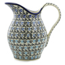 64 oz Stoneware Pitcher - Polmedia Polish Pottery H4847I