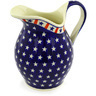 64 oz Stoneware Pitcher - Polmedia Polish Pottery H5089E