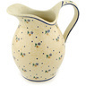 64 oz Stoneware Pitcher - Polmedia Polish Pottery H5143C