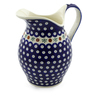 64 oz Stoneware Pitcher - Polmedia Polish Pottery H5481C