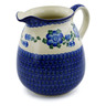 67 oz Stoneware Pitcher - Polmedia Polish Pottery H3365A
