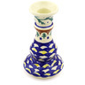 7-inch Stoneware Candle Holder - Polmedia Polish Pottery H0923G