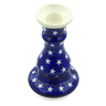 7-inch Stoneware Candle Holder - Polmedia Polish Pottery H4342J