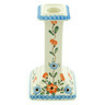 7-inch Stoneware Candle Holder - Polmedia Polish Pottery H6171H