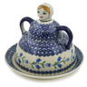 7-inch Stoneware Cheese Lady - Polmedia Polish Pottery H9536J