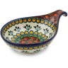 7-inch Stoneware Condiment Server - Polmedia Polish Pottery H0640G