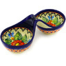 7-inch Stoneware Condiment Server - Polmedia Polish Pottery H1377E