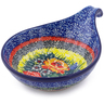 7-inch Stoneware Condiment Server - Polmedia Polish Pottery H5485I