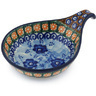 7-inch Stoneware Condiment Server - Polmedia Polish Pottery H8427G