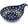 7-inch Stoneware Condiment Server - Polmedia Polish Pottery H9101G