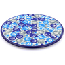 7-inch Stoneware Cutting Board - Polmedia Polish Pottery H1321J