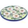 7-inch Stoneware Cutting Board - Polmedia Polish Pottery H2707J
