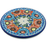 7-inch Stoneware Cutting Board - Polmedia Polish Pottery H5294F