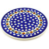 7-inch Stoneware Cutting Board - Polmedia Polish Pottery H6412F