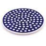 7-inch Stoneware Cutting Board - Polmedia Polish Pottery H7822G